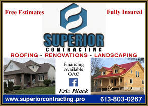 Superior Contracting 613-803-0267