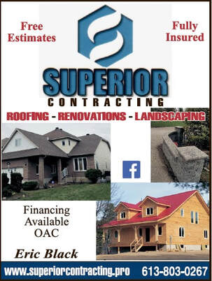 Superior Contracting  www.superiorcontracting.pro Athens 613-803-0267