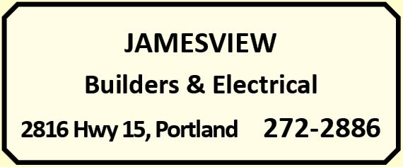 Jamesview Builders & Electrical 272-2886